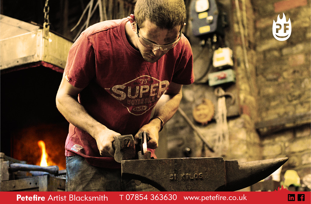 Petefire Artist Blacksmith, Watford, Herts 00114