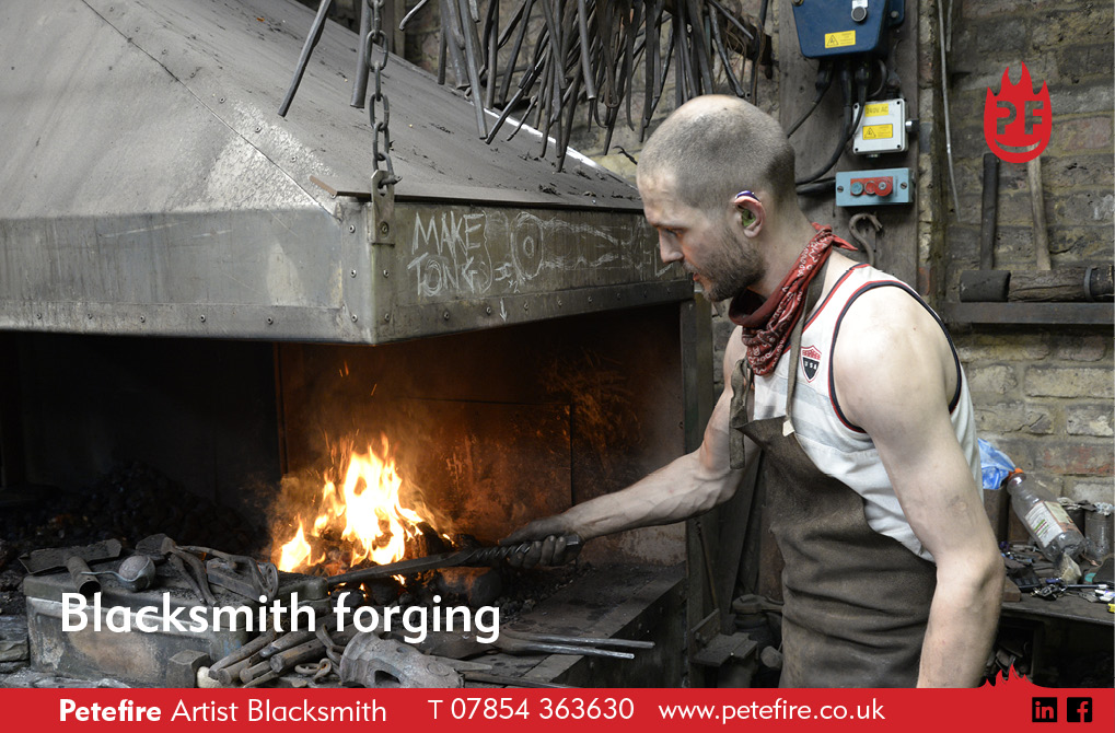 Peter Williamson sword maker UK – Petefire Artist Blacksmith, Watford, Herts UK