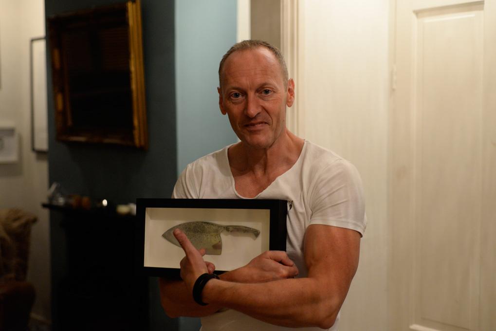 The Dane Knife – Petefire Artist Blacksmith