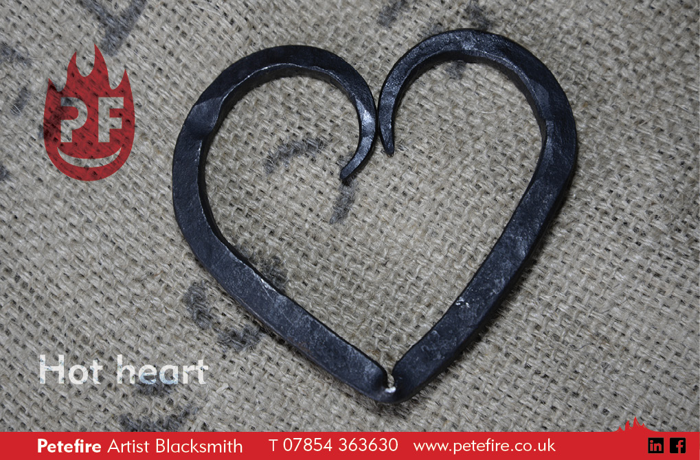 Petefire Artist Blacksmith hot heart