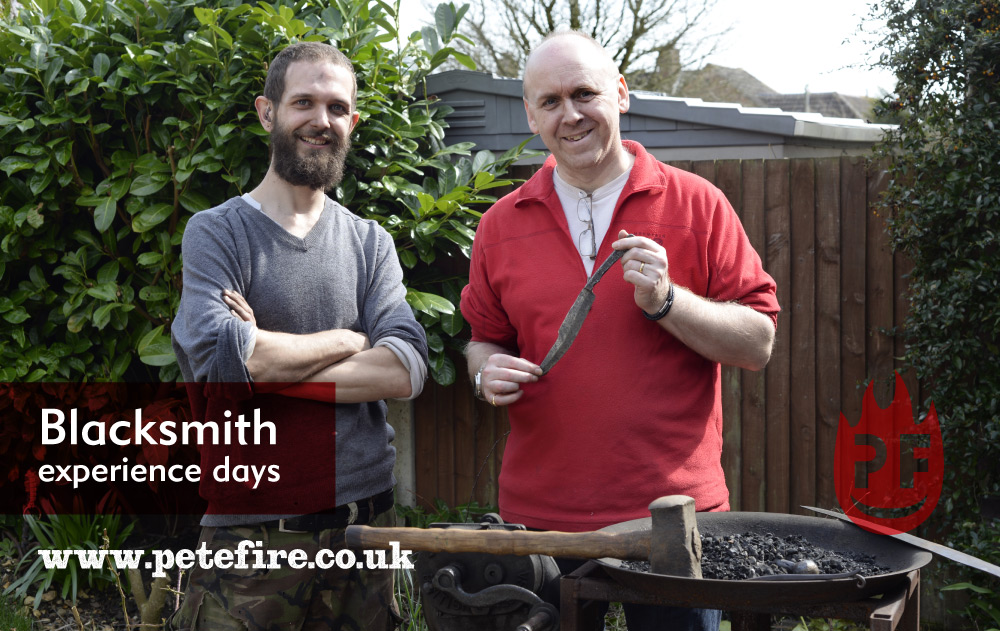 Paul's blacksmith forging experience questions