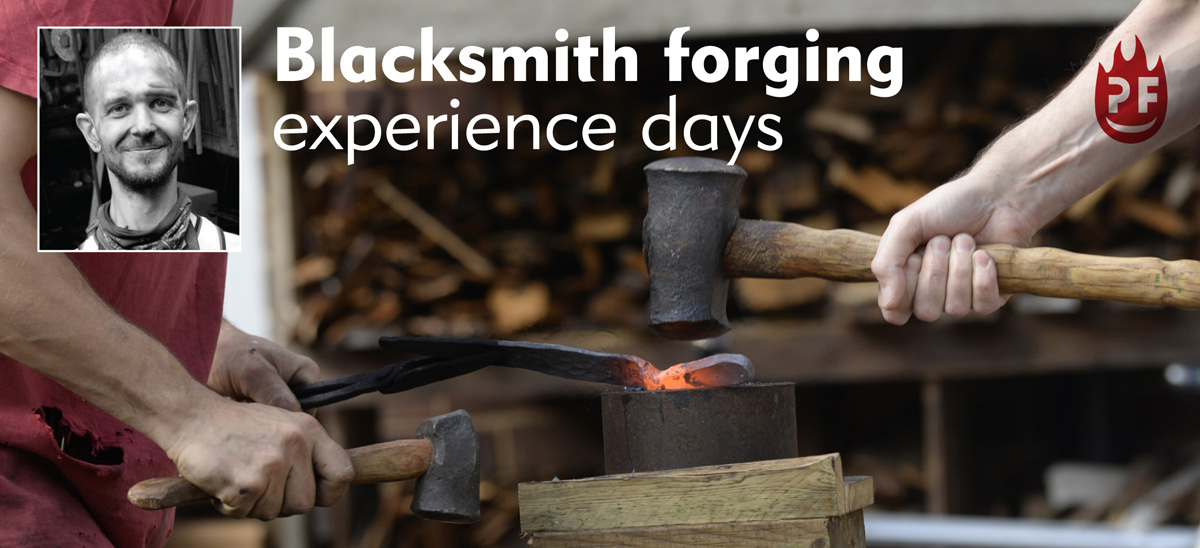 Petefire – Blacksmith Forging Experience Day, Watford, Herts