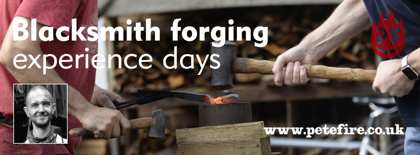 Petefire Artist Blacksmith – Blacksmith Forging Experience Day, Abbots Langley, Herts