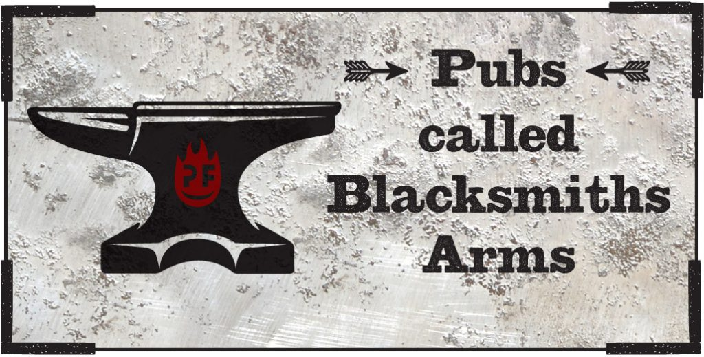 Pubs in England named Blacksmiths Arms – Petefire Artist Blacksmith