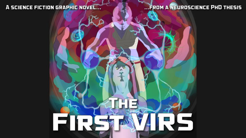 The First VIRS book title graphic