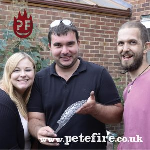 Petefire Blacksmith Forging Experience sample voucher, Herts