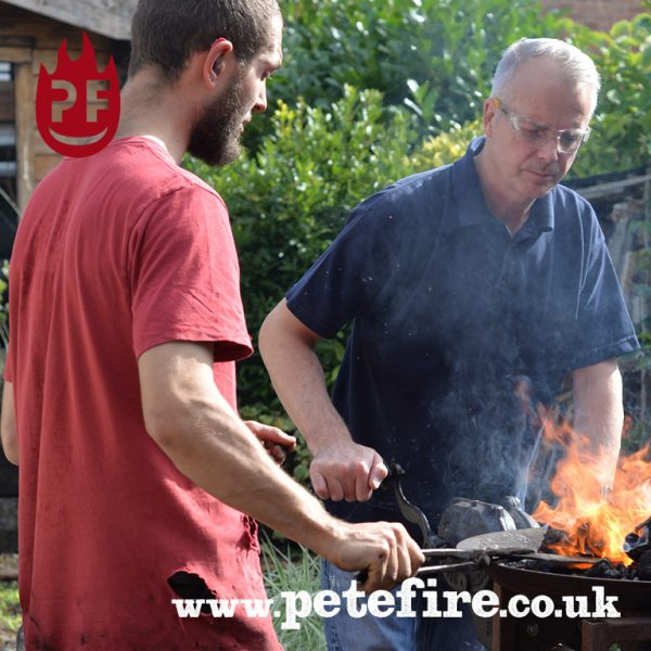 Petefire Blacksmith-Forging Experience, St Albans, Herts