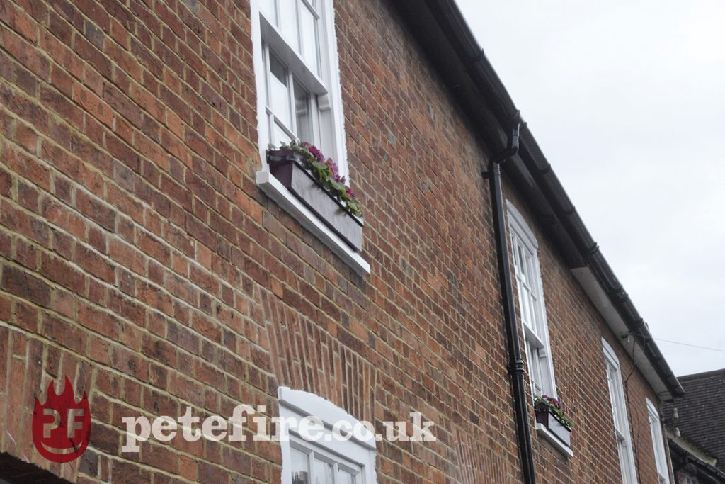 St Albans hand forged window box brackets